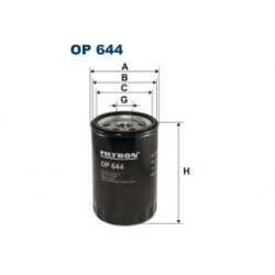 Olejový filter Filtron OP644