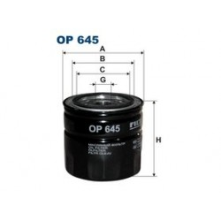 Olejový filter Filtron OP645