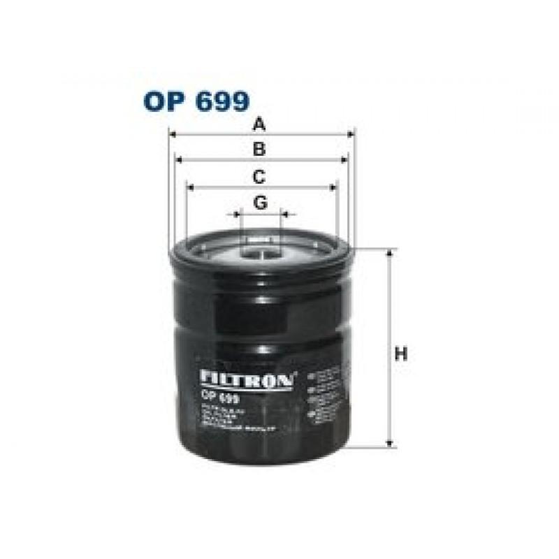 Olejový filter Filtron OP699