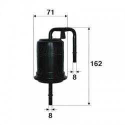 Palivový filter Filtron PP891/3