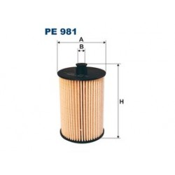 Palivový filter Filtron PE981
