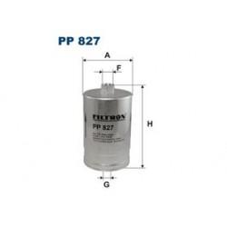 Palivový filter Filtron PP827