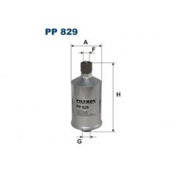 Palivový filter Filtron PP829