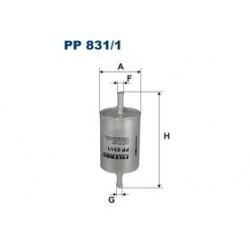 Palivový filter Filtron PP831/1