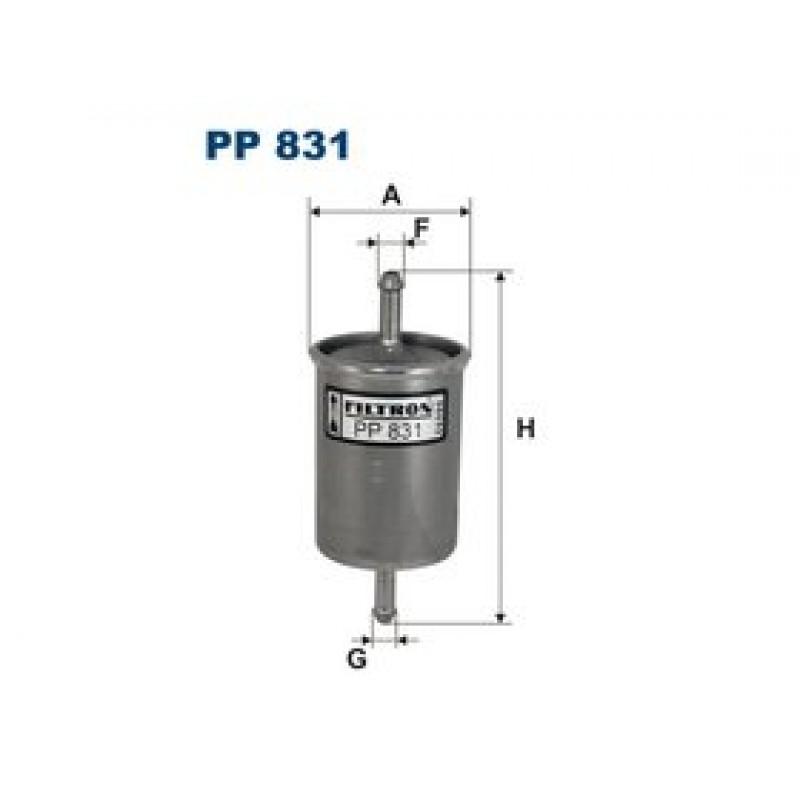 Palivový filter Filtron PP831