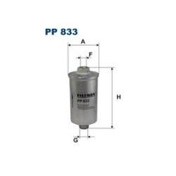 Palivový filter Filtron PP833