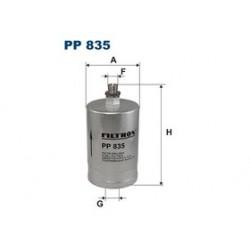 Palivový filter Filtron PP835