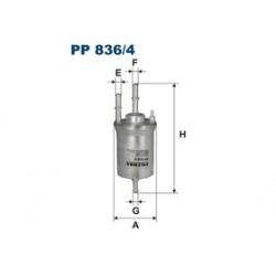 Palivový filter Bosch F 026 403 006