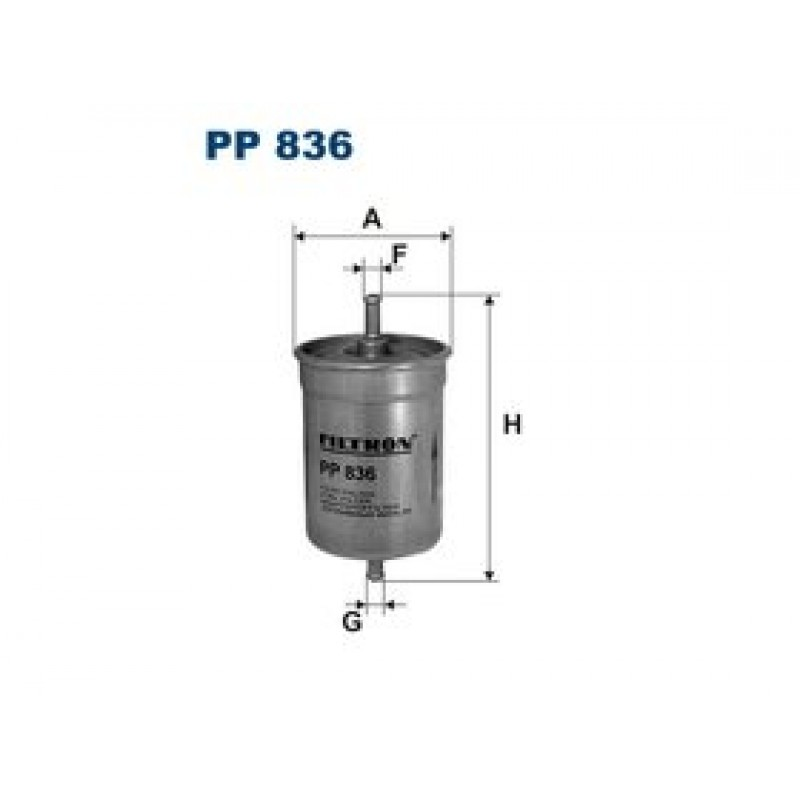 Palivový filter Filtron PP836