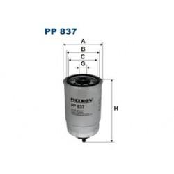 Palivový filter Filtron PP837