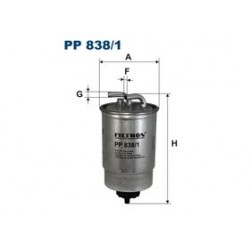 Palivový filter Filtron PP838/1