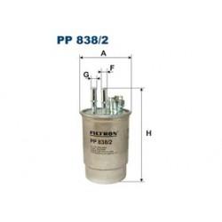 Palivový filter Filtron PP838/2
