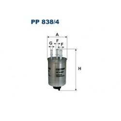 Palivový filter Filtron PP838/4