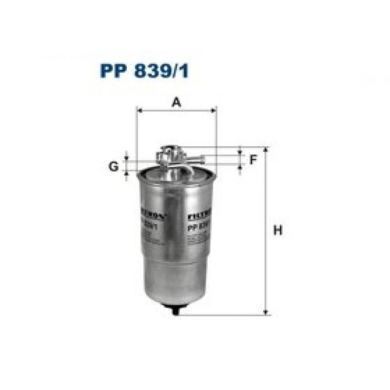 Palivový filter Filtron PP839/1