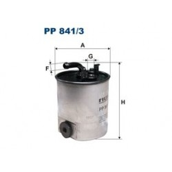 Palivový filter Filtron PP841/3