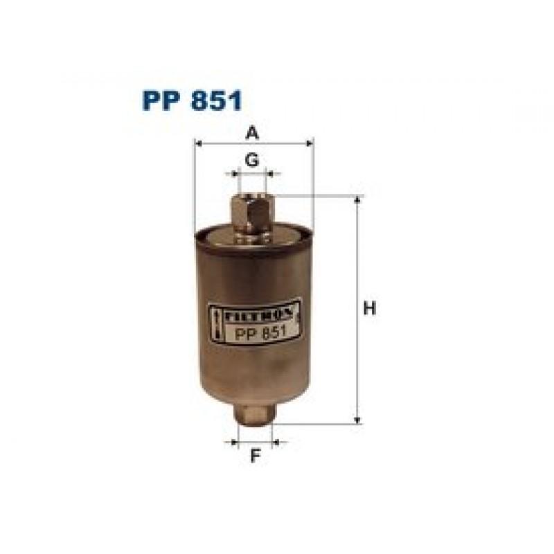 Palivový filter Filtron PP851