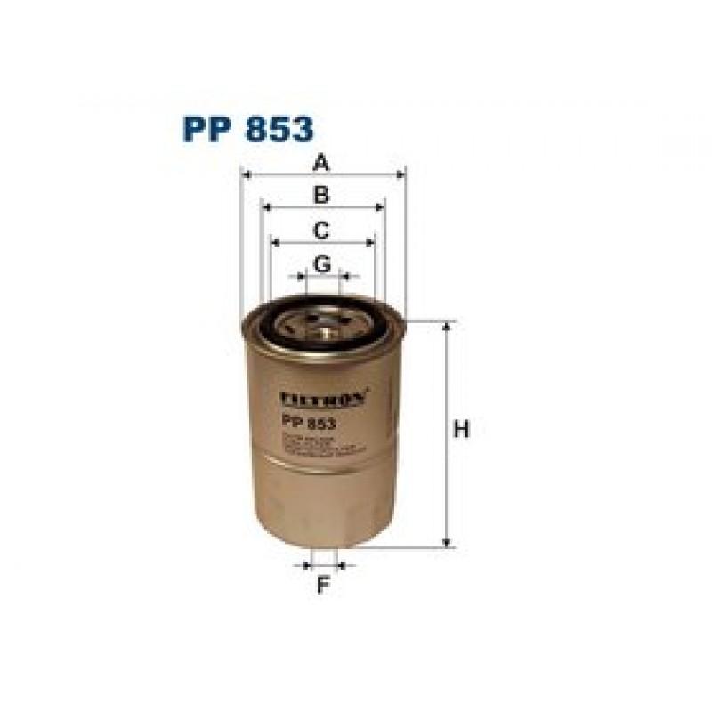 Palivový filter Filtron PP853