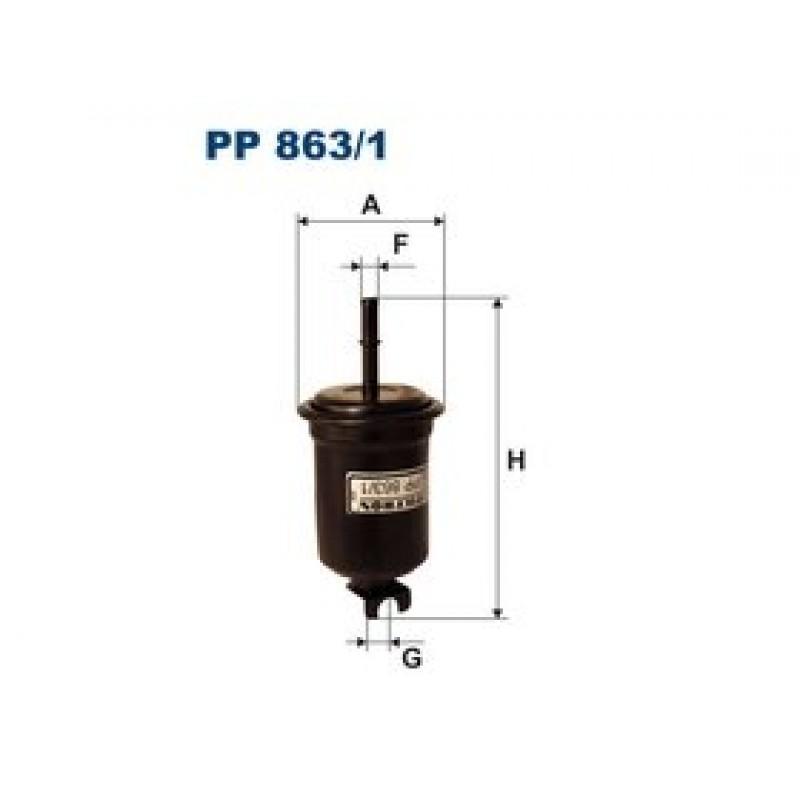 Palivový filter Filtron PP863/1