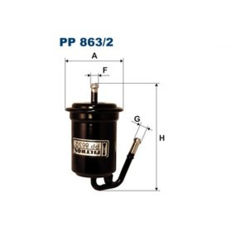 Palivový filter Filtron PP863/2