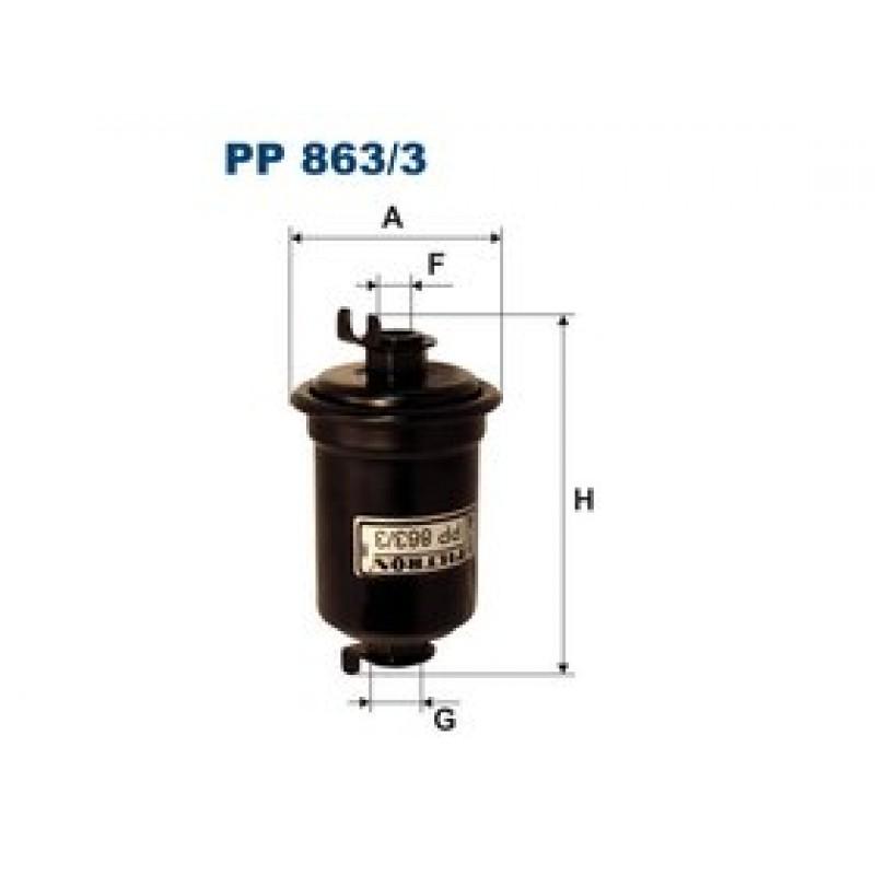 Palivový filter Filtron PP863/3