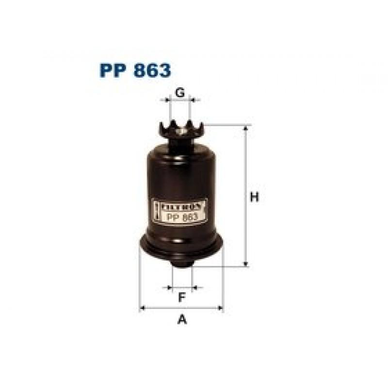 Palivový filter Filtron PP863