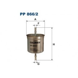 Palivový filter Filtron PP866/2
