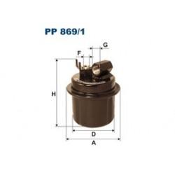 Palivový filter Filtron PP869/1