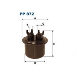 Palivový filter Filtron PP872