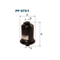 Palivový filter Filtron PP875/1