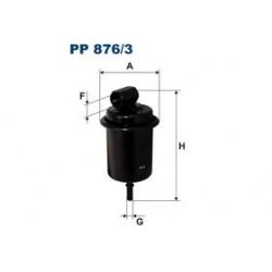 Palivový filter Filtron PP876/3