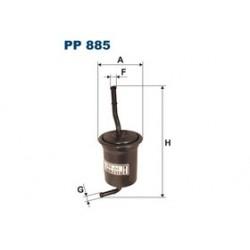 Palivový filter Filtron PP885