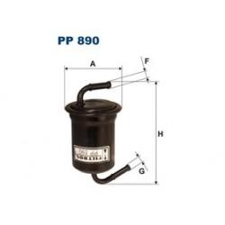 Palivový filter Filtron PP890