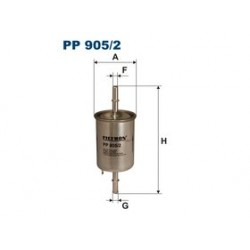 Palivový filter Filtron PP905/2