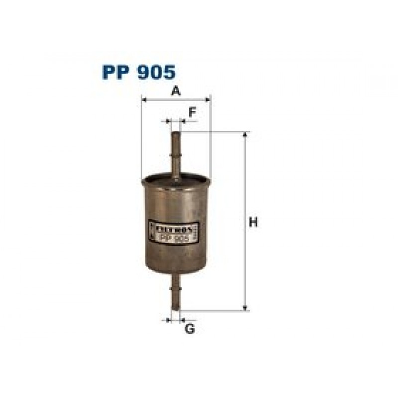 Palivový filter Filtron PP905