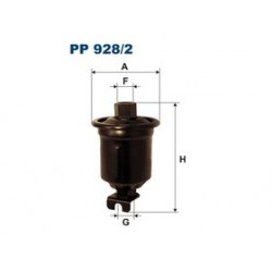 Palivový filter Filtron PP928/2