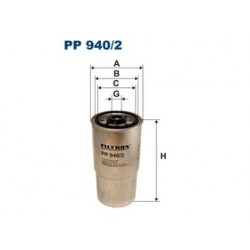 Palivový filter Filtron PP940/2