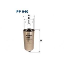 Palivový filter Filtron PP940