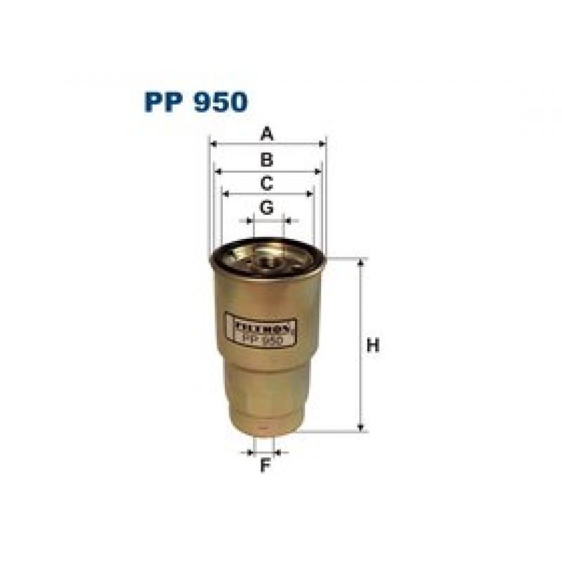 Palivový filter Filtron PP950