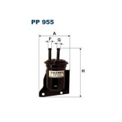 Palivový filter Filtron PP955