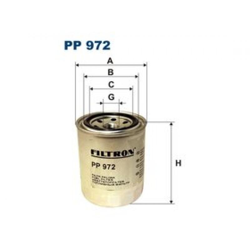 Palivový filter Filtron PP972