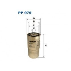Palivový filter Filtron PP979