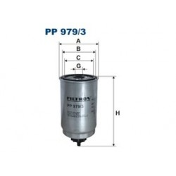 Palivový filter Filtron PP979/3