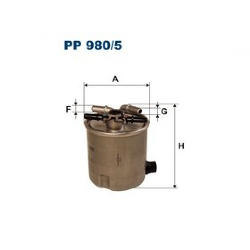 Palivový filter Filtron PP980/5