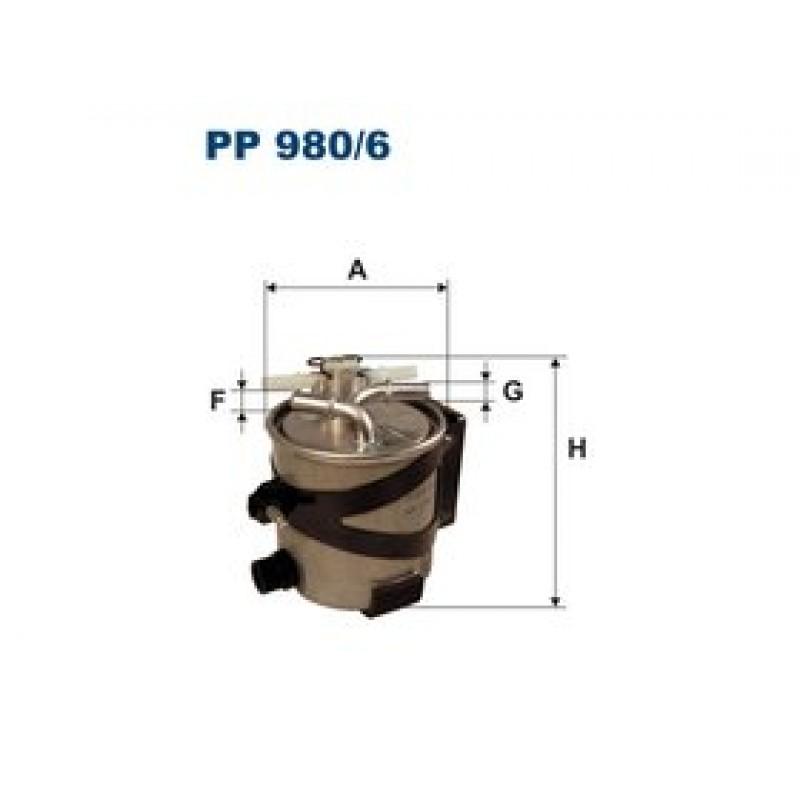 Palivový filter Filtron PP980/6