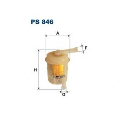 Palivový filter Filtron PS846