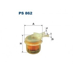 Palivový filter Filtron PS862