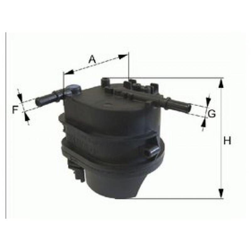Palivový filter Filtron PS974/1