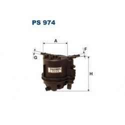 Palivový filter Filtron PS974