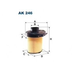 Vzduchový filter Filtron AK246