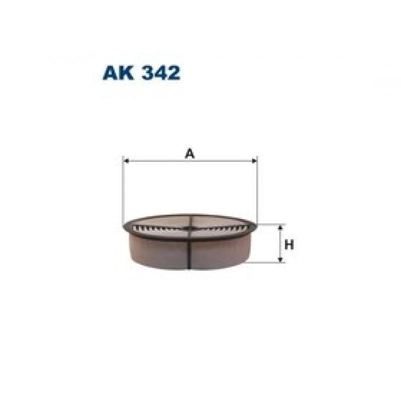 Vzduchový filter Filtron AK342